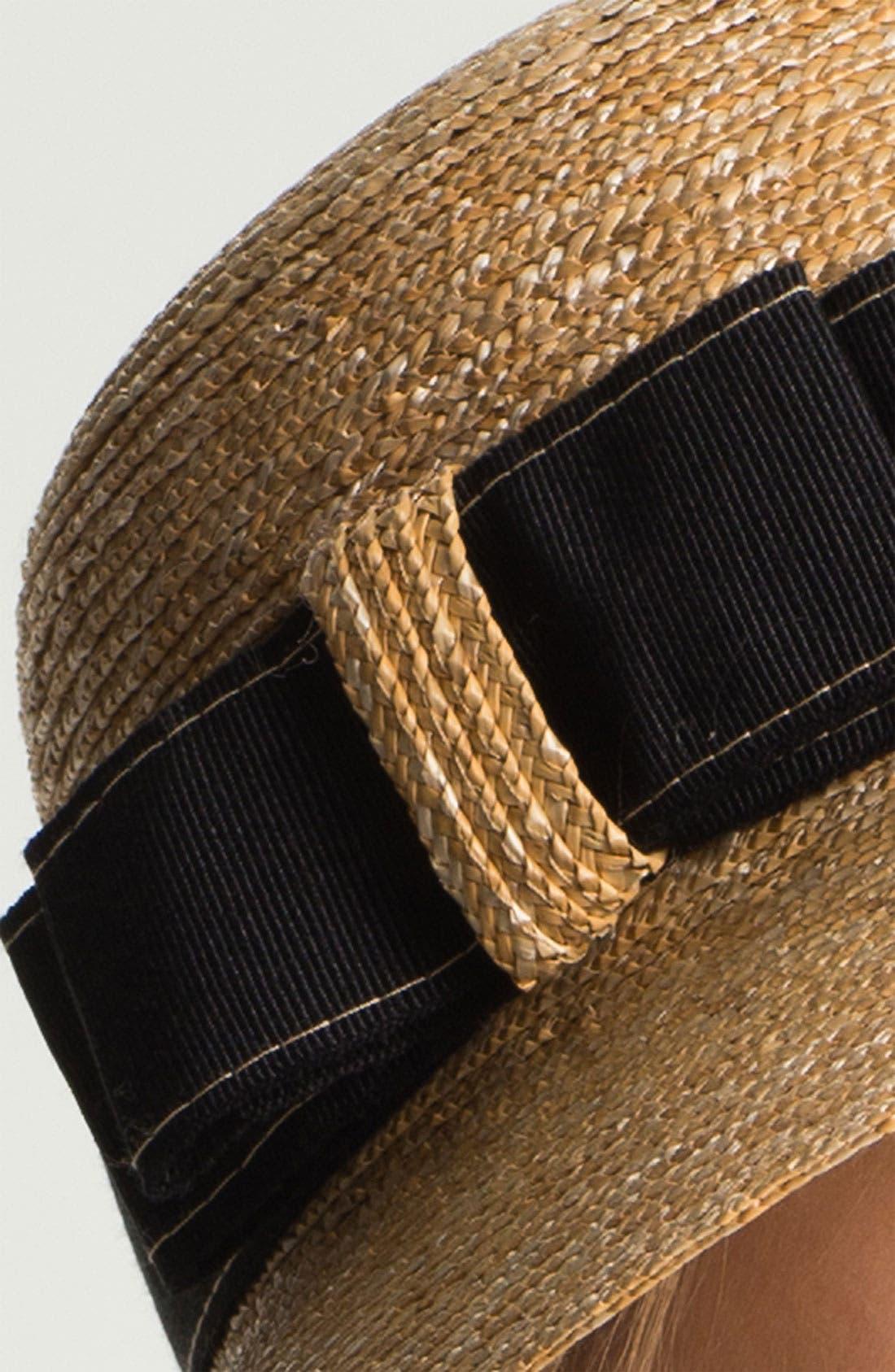 Alternate Image 2  - Nordstrom Straw Hat