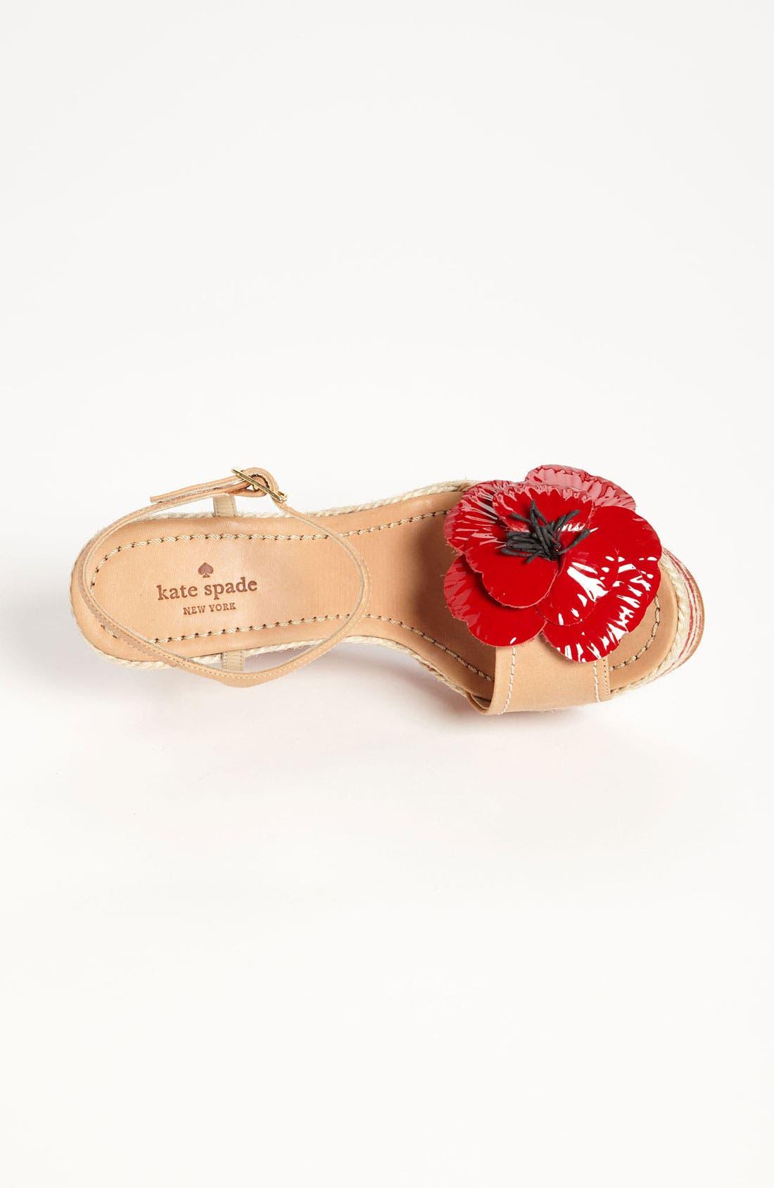 Alternate Image 3  - kate spade new york 'lainey' wedge sandal