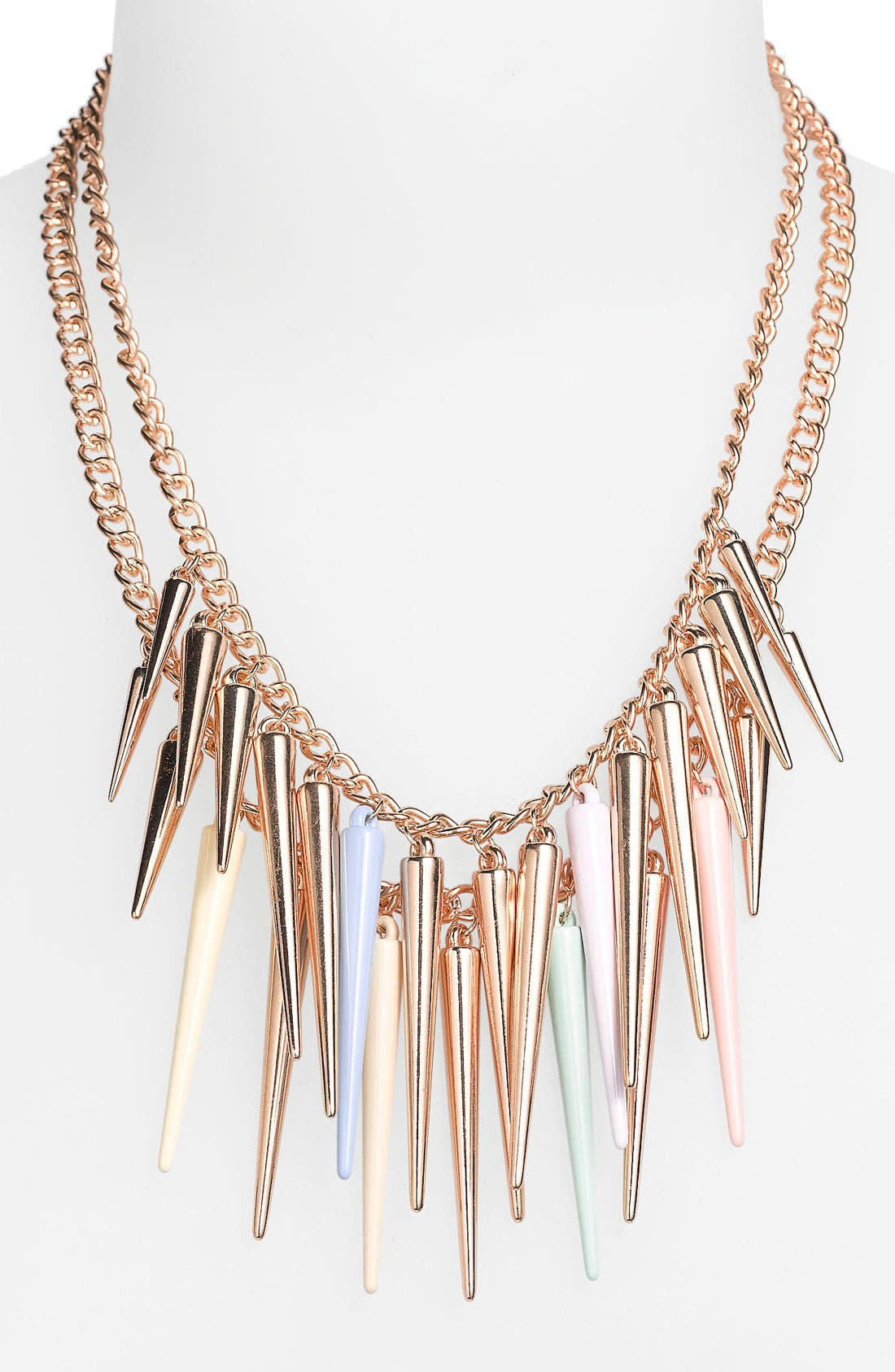 Main Image - BP. Multitoned Spike Necklace
