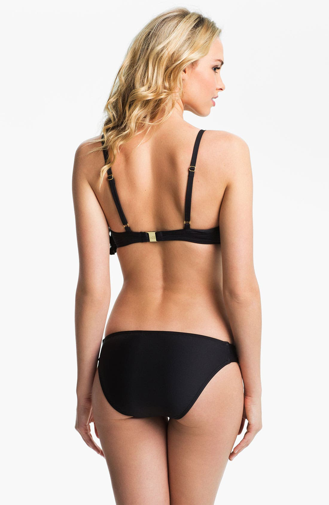 Alternate Image 4  - Luxe by Lisa Vogel 'Pandora' Flutter Bikini Top