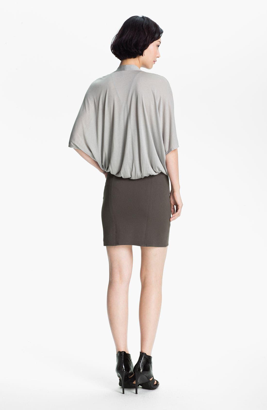Alternate Image 2  - HELMUT Helmut Lang 'Gala' Draped Knit Dress