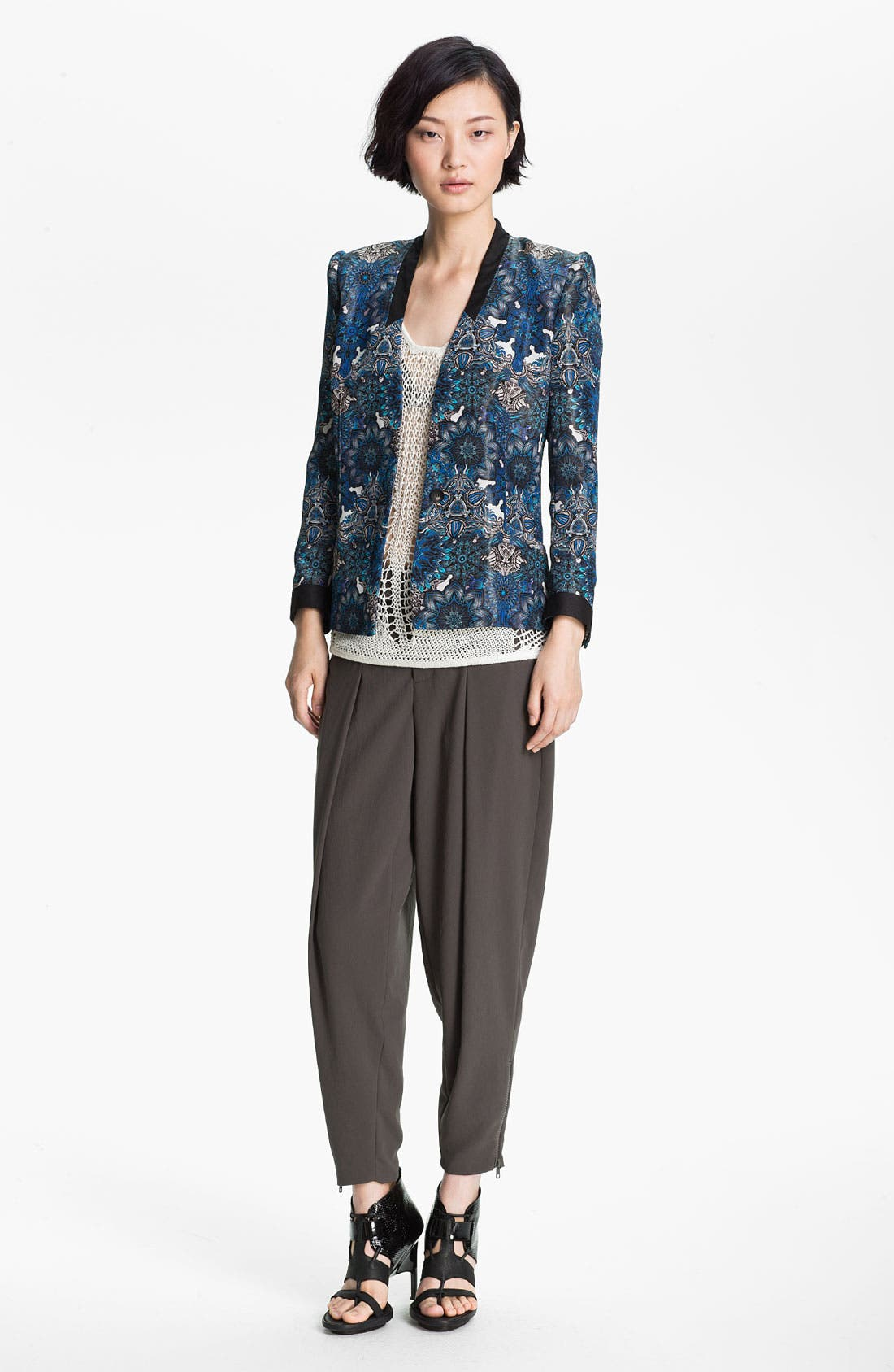Alternate Image 1 Selected - Helmut Lang 'Mandala' Print Jacket
