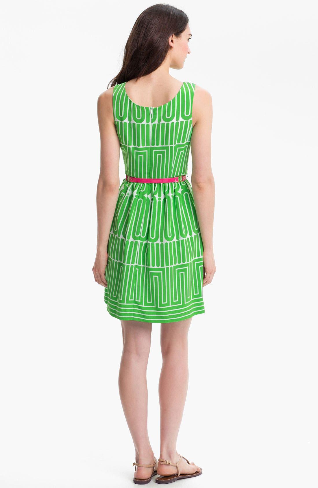 Alternate Image 2  - Trina Turk 'Garden Maze' Print Fit & Flare Dress