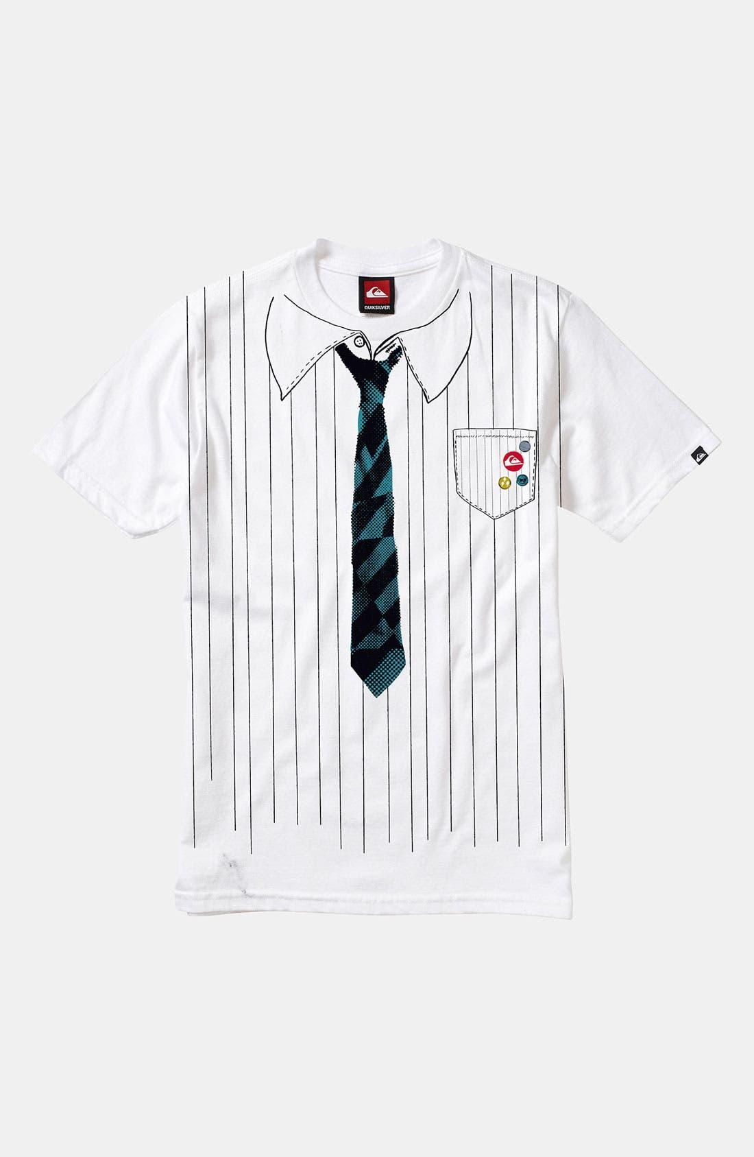 Alternate Image 1 Selected - Quiksilver 'Loosen Up' T-Shirt (Big Boys)