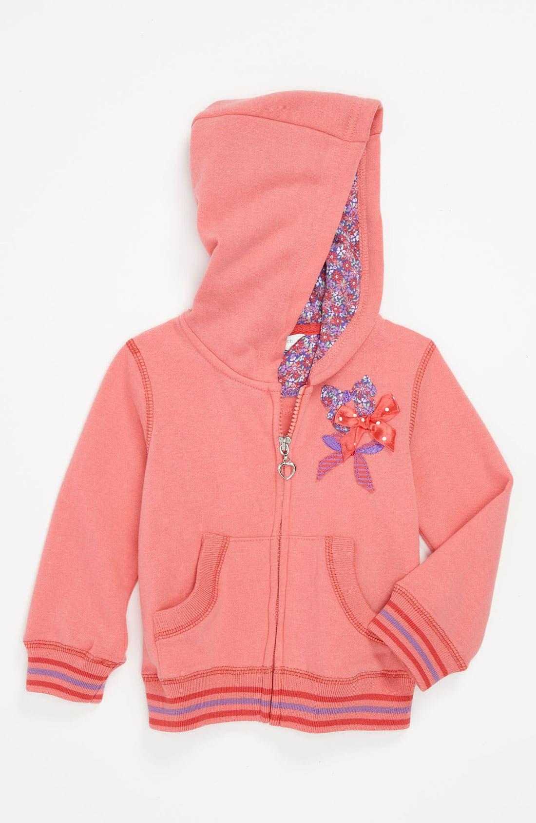 Main Image - Pumpkin Patch Fleece Hoodie (Infant)