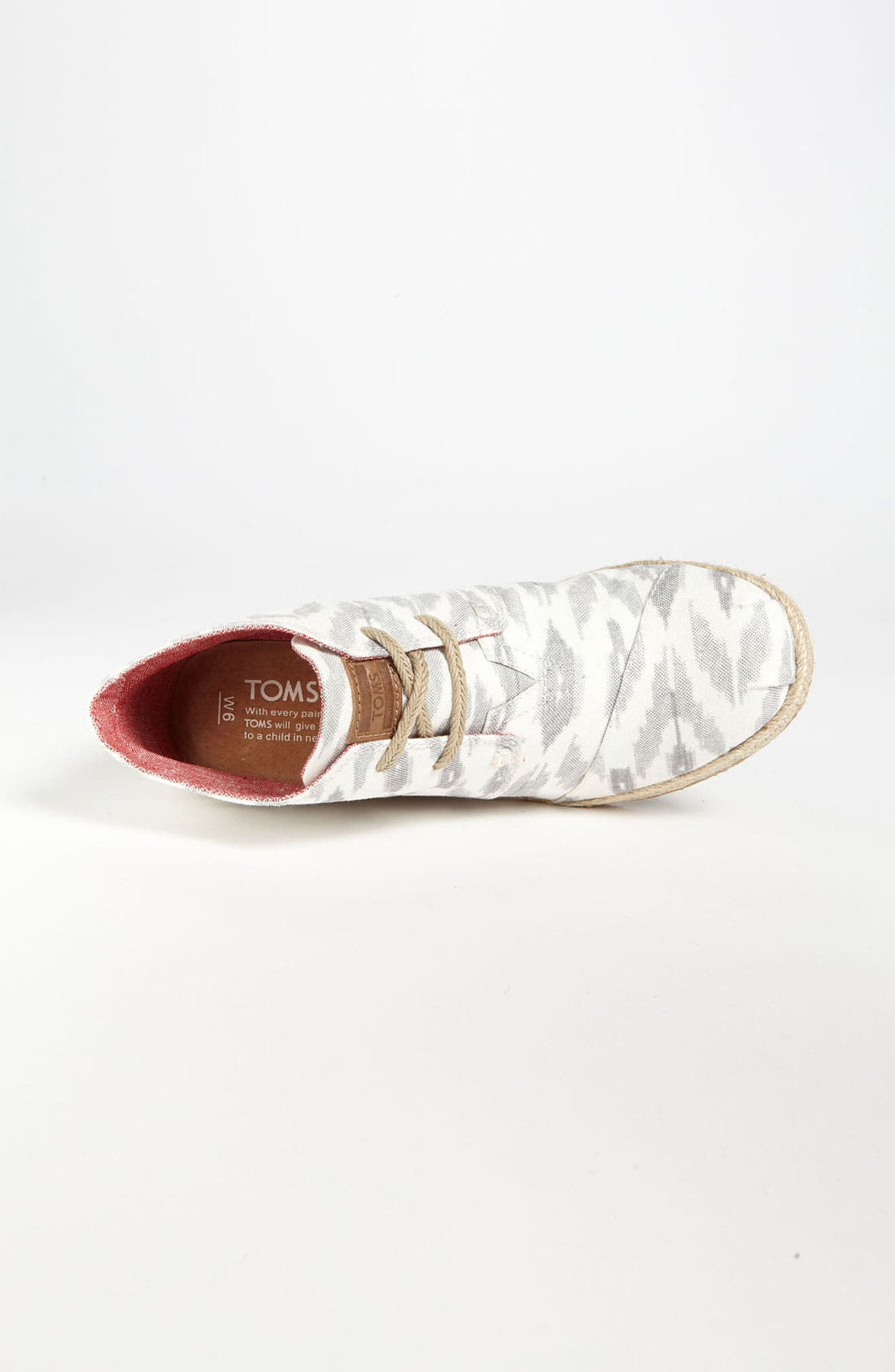 Alternate Image 3  - TOMS 'Desert - Ikat' Wedge Bootie
