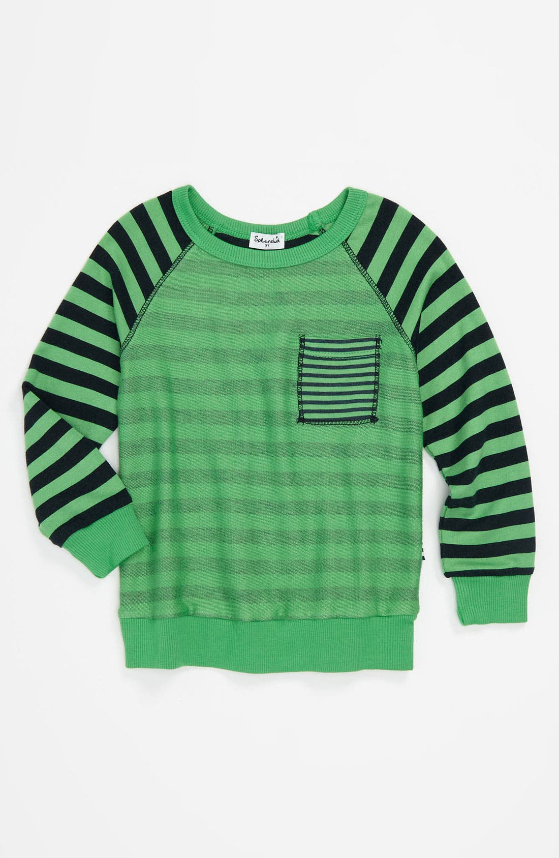Alternate Image 1 Selected - Splendid Raglan Sleeve Shirt (Toddler)