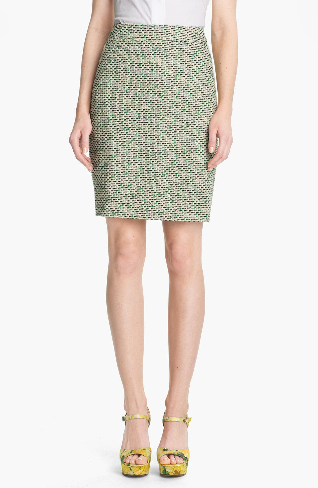Main Image - kate spade new york 'judy' tweed skirt