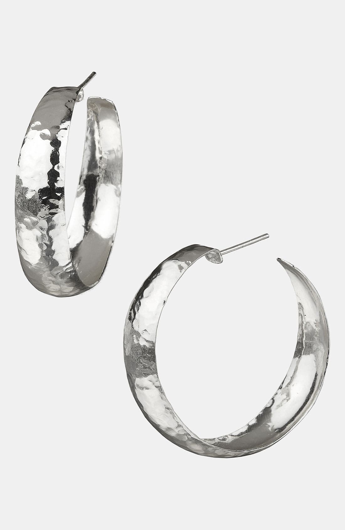 Alternate Image 1 Selected - Argento Vivo Hoop Earrings (Nordstrom Exclusive)