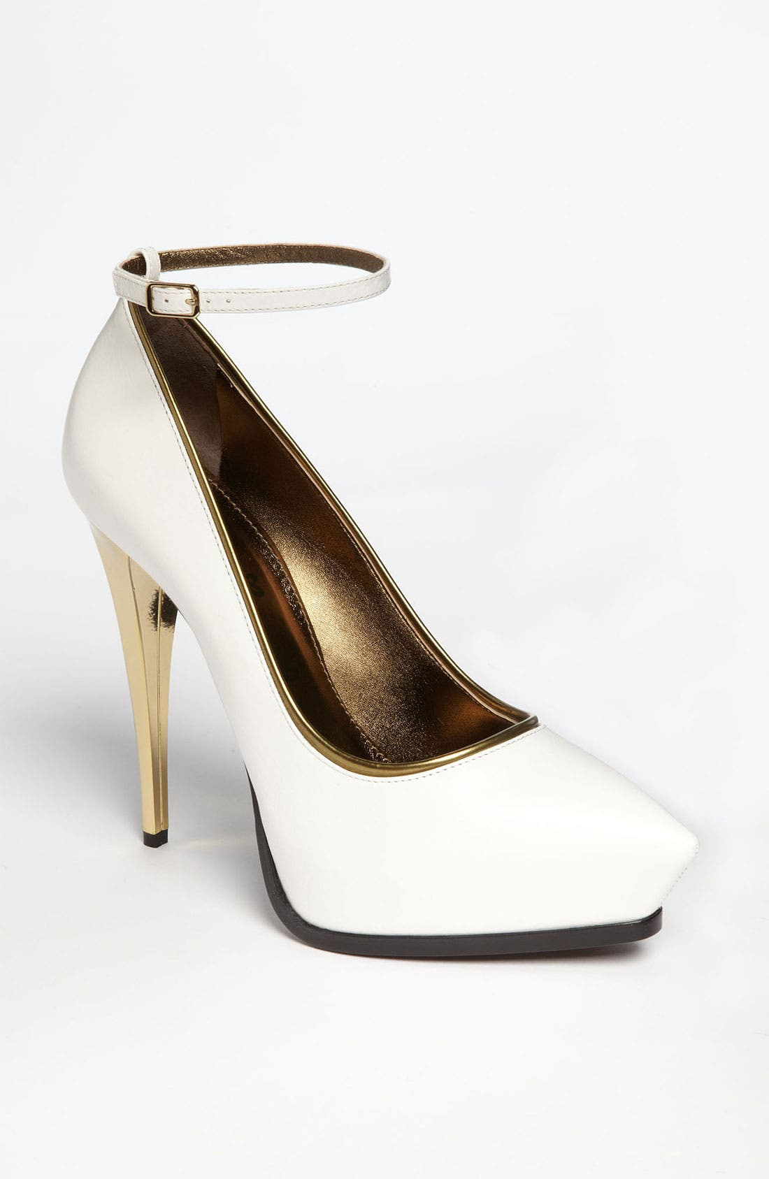 Alternate Image 1 Selected - Lanvin Ankle Strap Pump