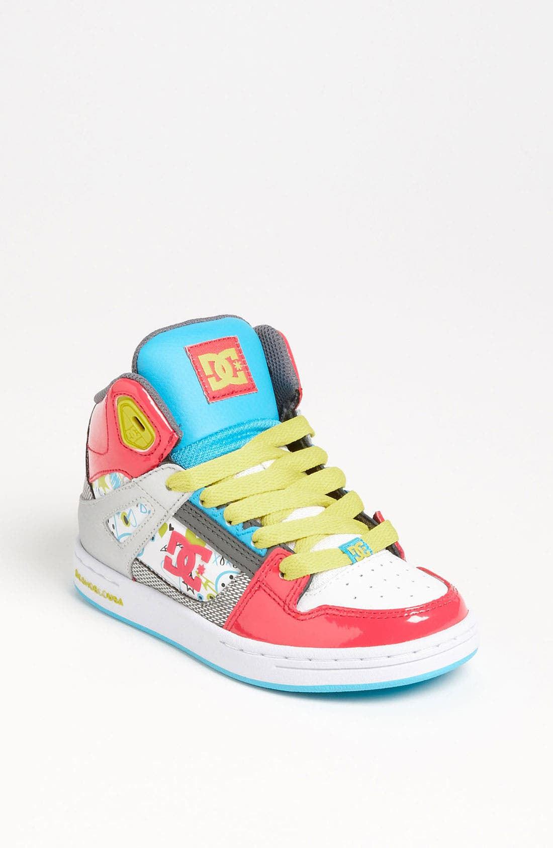 Alternate Image 1 Selected - DC Shoes 'Rebound' Skate Shoe (Toddler, Little Kid & Big Kid)