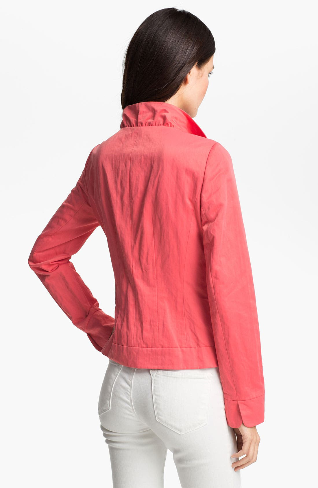 Alternate Image 2  - Lafayette 148 New York 'Regine - Confectionary Crinkle' Jacket