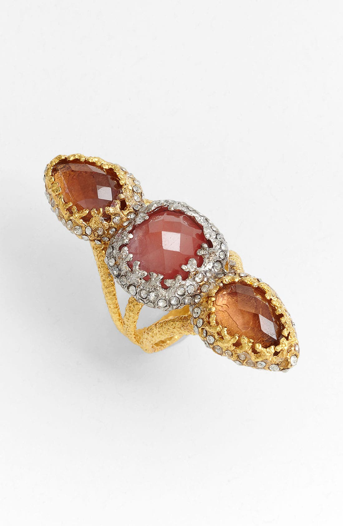 Alternate Image 1 Selected - Alexis Bittar 'Elements - Floral' Linear Stone Ring