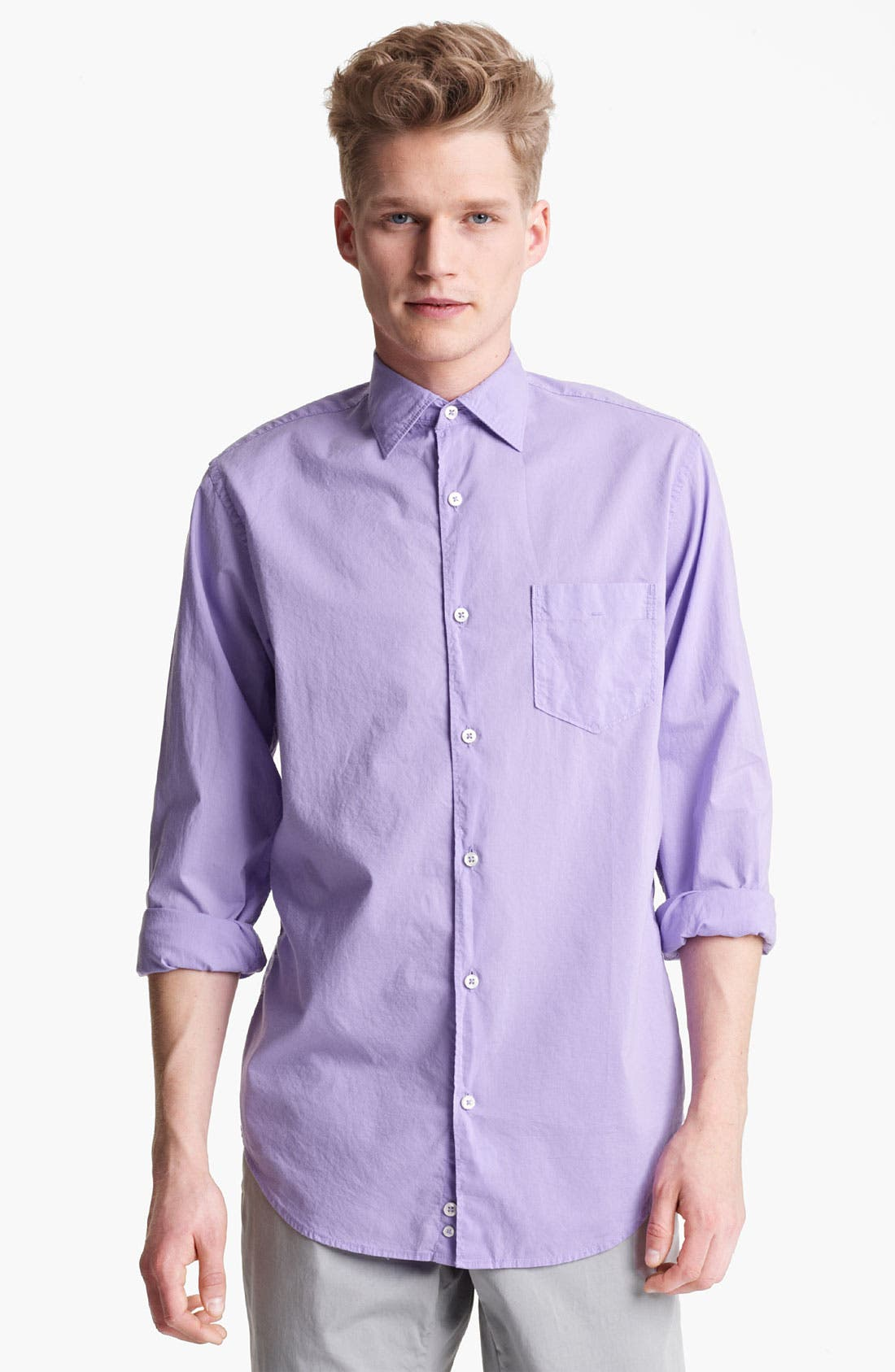 Alternate Image 1 Selected - Mason's Poplin Woven Shirt