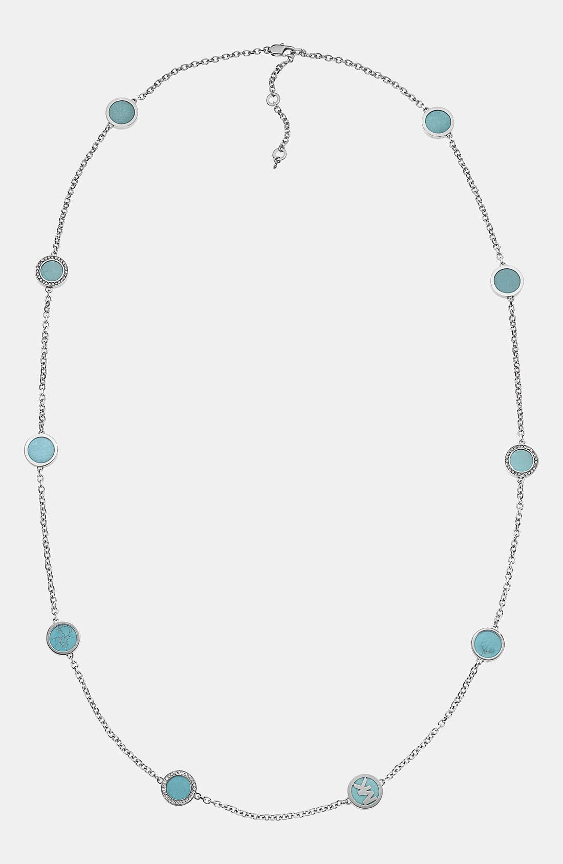 Alternate Image 1 Selected - Michael Kors Long Station Necklace