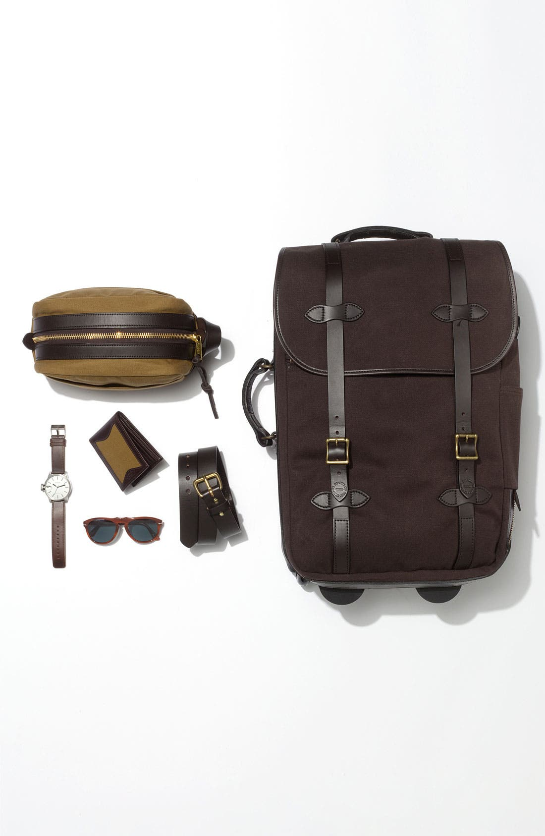 Alternate Image 5  - Filson Wheeled Carry-On Bag (23 Inch)