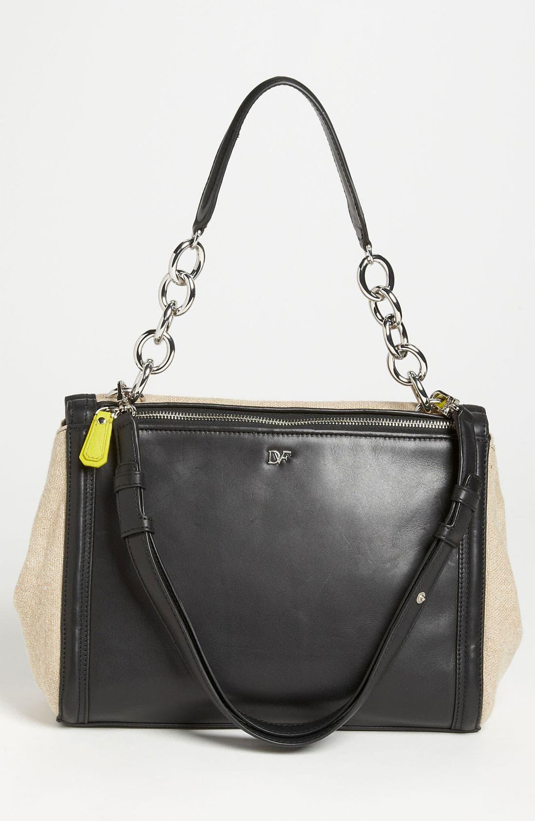 Alternate Image 4  - Diane von Furstenberg 'New Harper' Linen Shoulder Bag