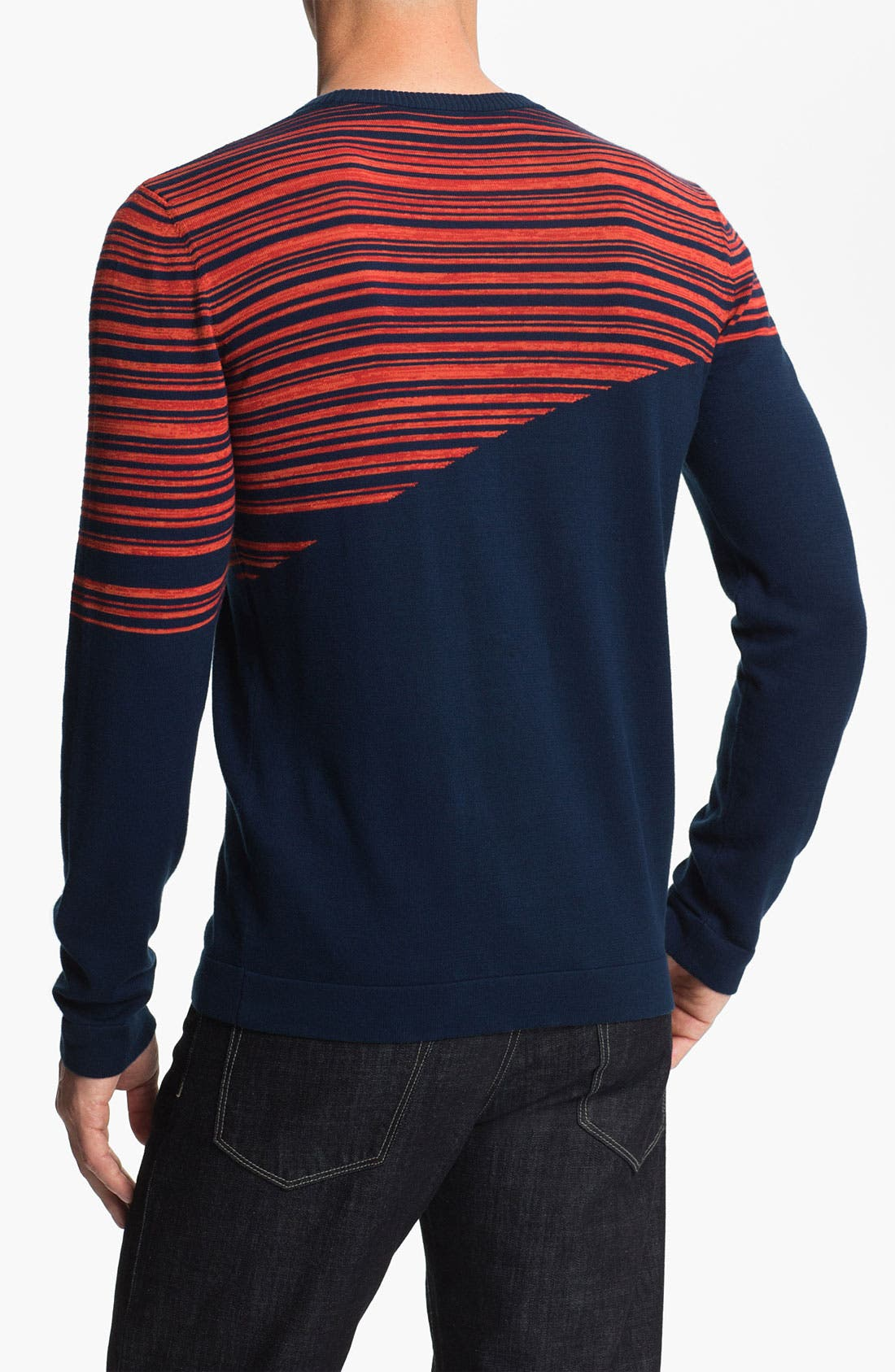Alternate Image 2  - HUGO 'Salamis' Crewneck Sweater