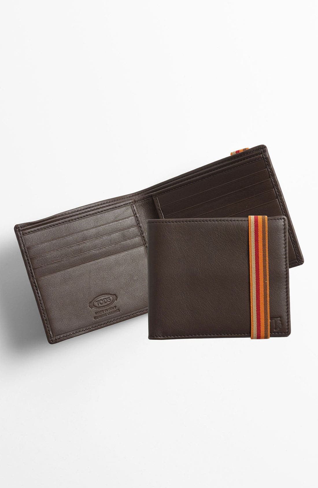 Alternate Image 1 Selected - Tod's Leather Bifold Wallet