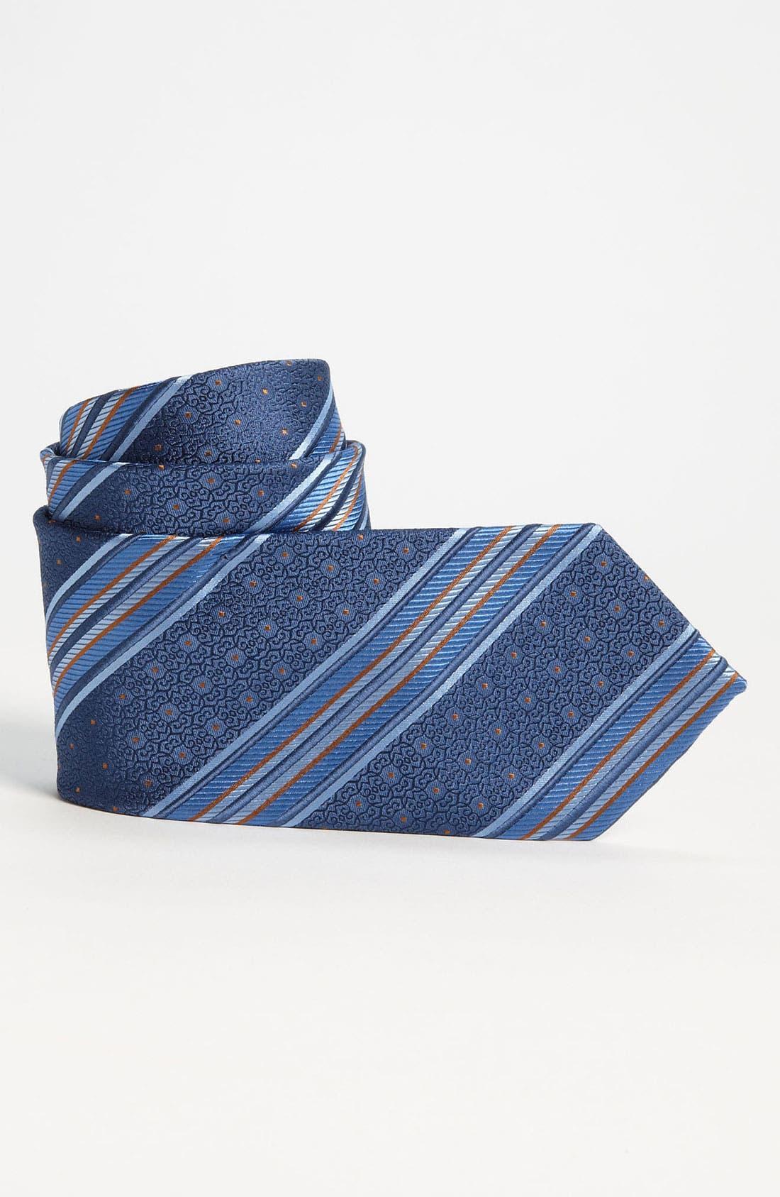 Main Image - Joseph Abboud Woven Silk Tie (Big Boys)