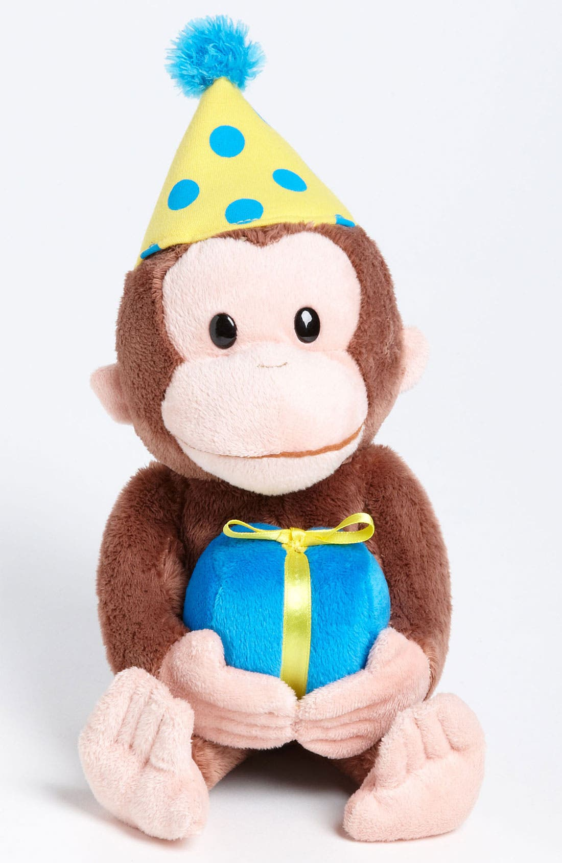Alternate Image 1 Selected - Gund 'Curious George® - Happy Birthday' Stuffed Animal