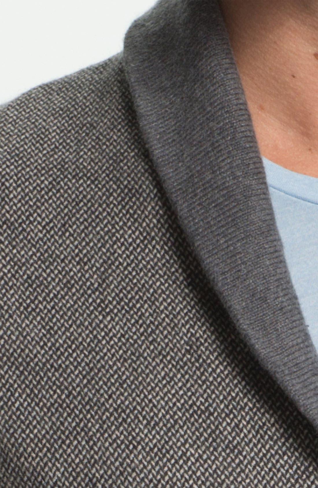 Alternate Image 3  - Ted Baker London 'Bosport' Shawl Collar Button Cardigan