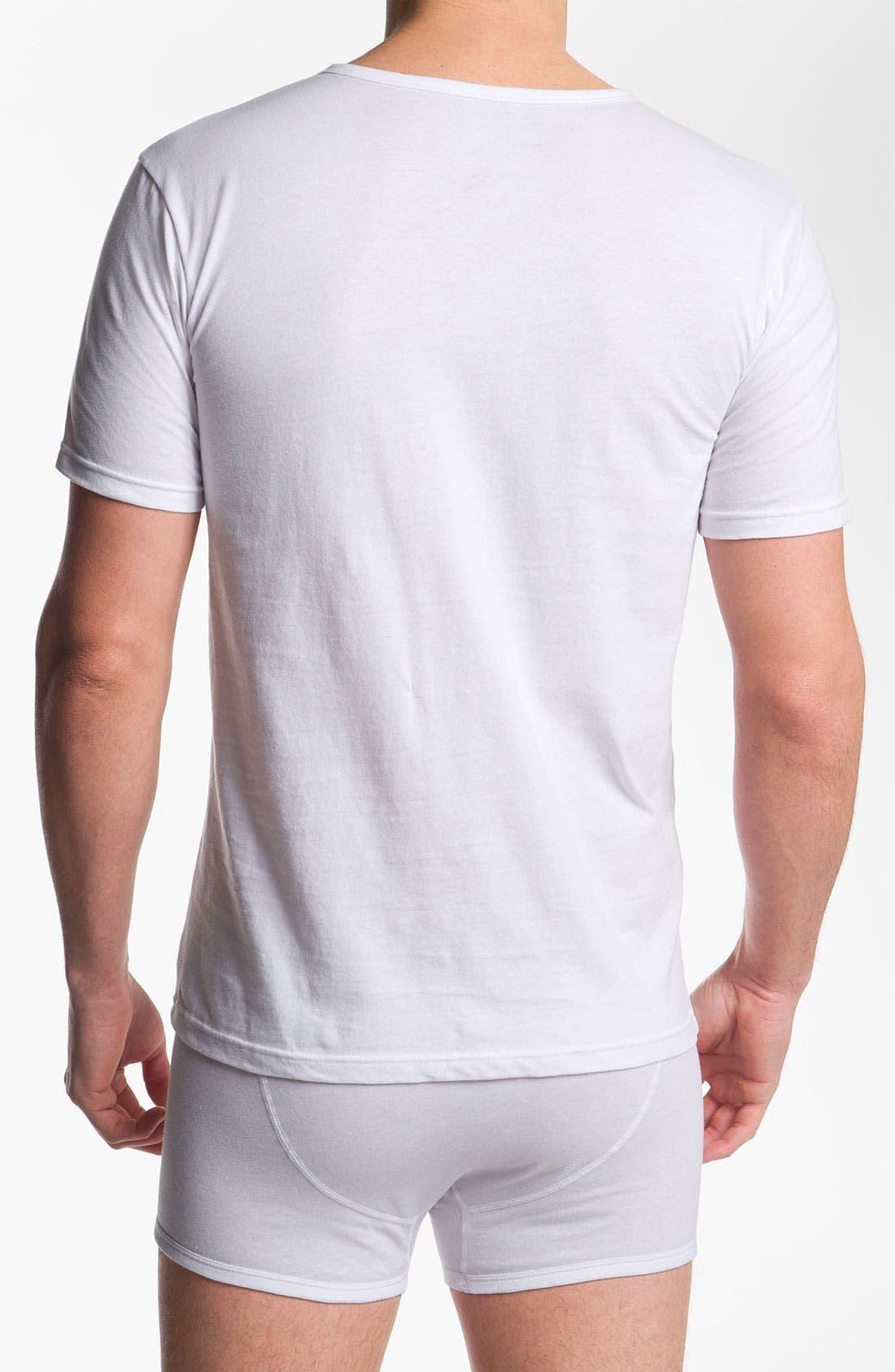 Alternate Image 2  - Emporio Armani 3-Pack Crewneck T-Shirt