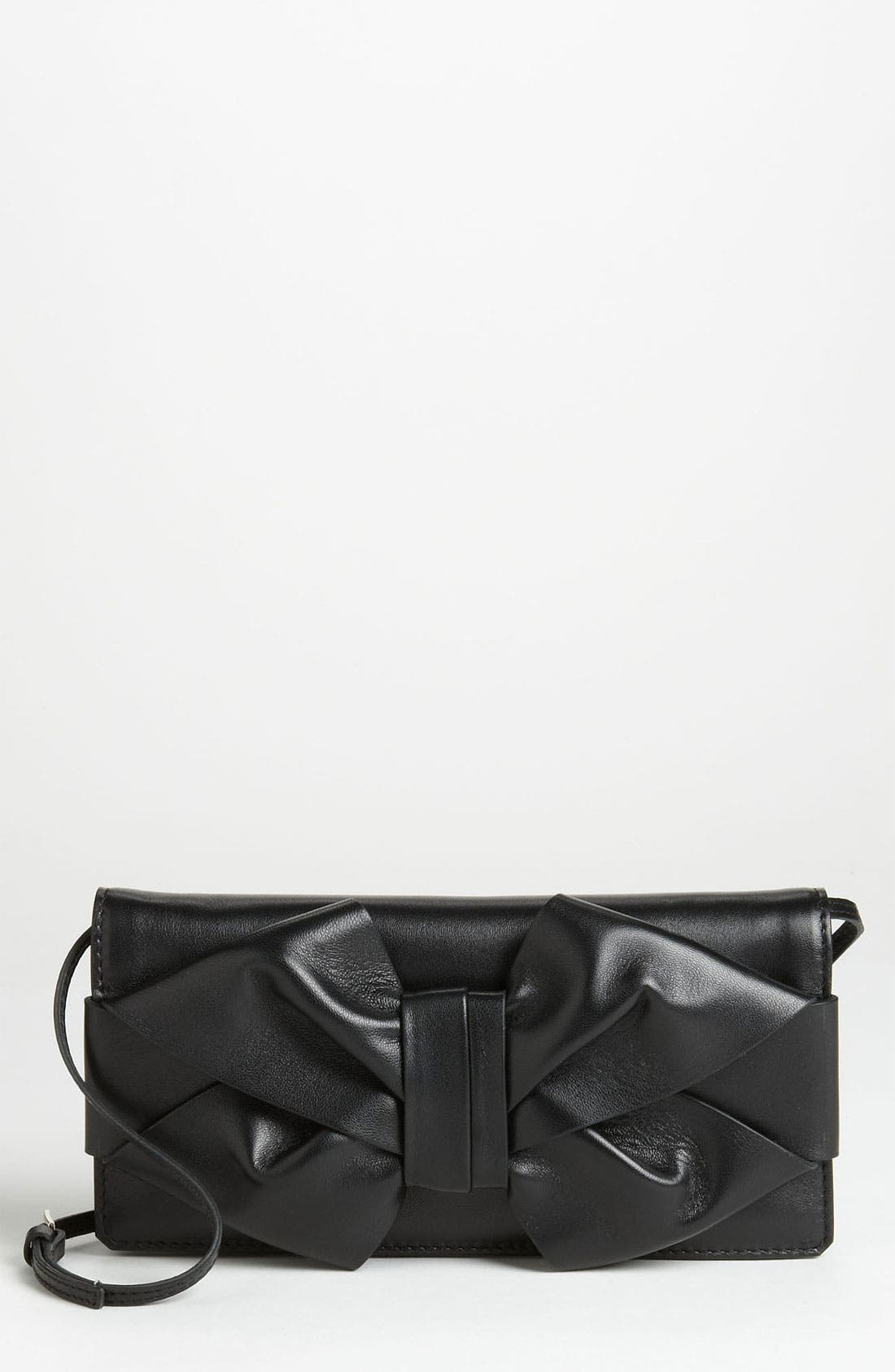 Alternate Image 1 Selected - Valentino 'Bow' Leather Clutch