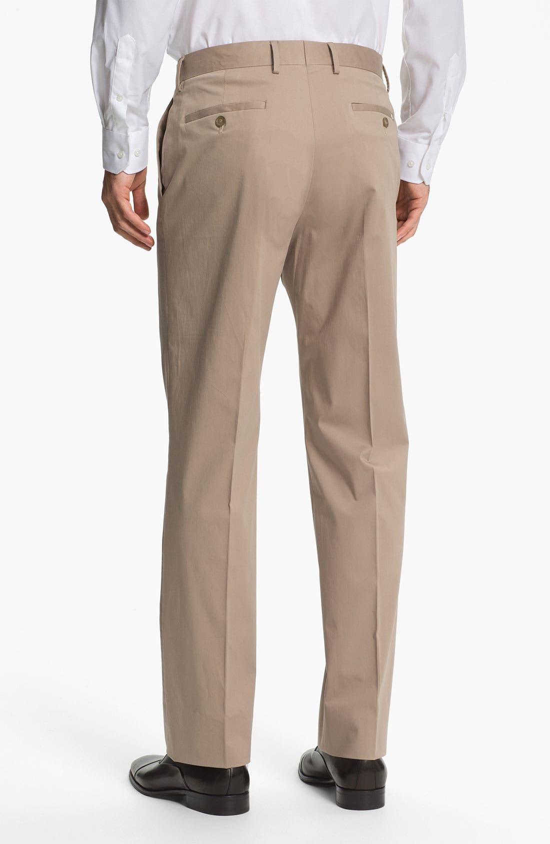 Alternate Image 2  - Michael Kors Flat Front Pants