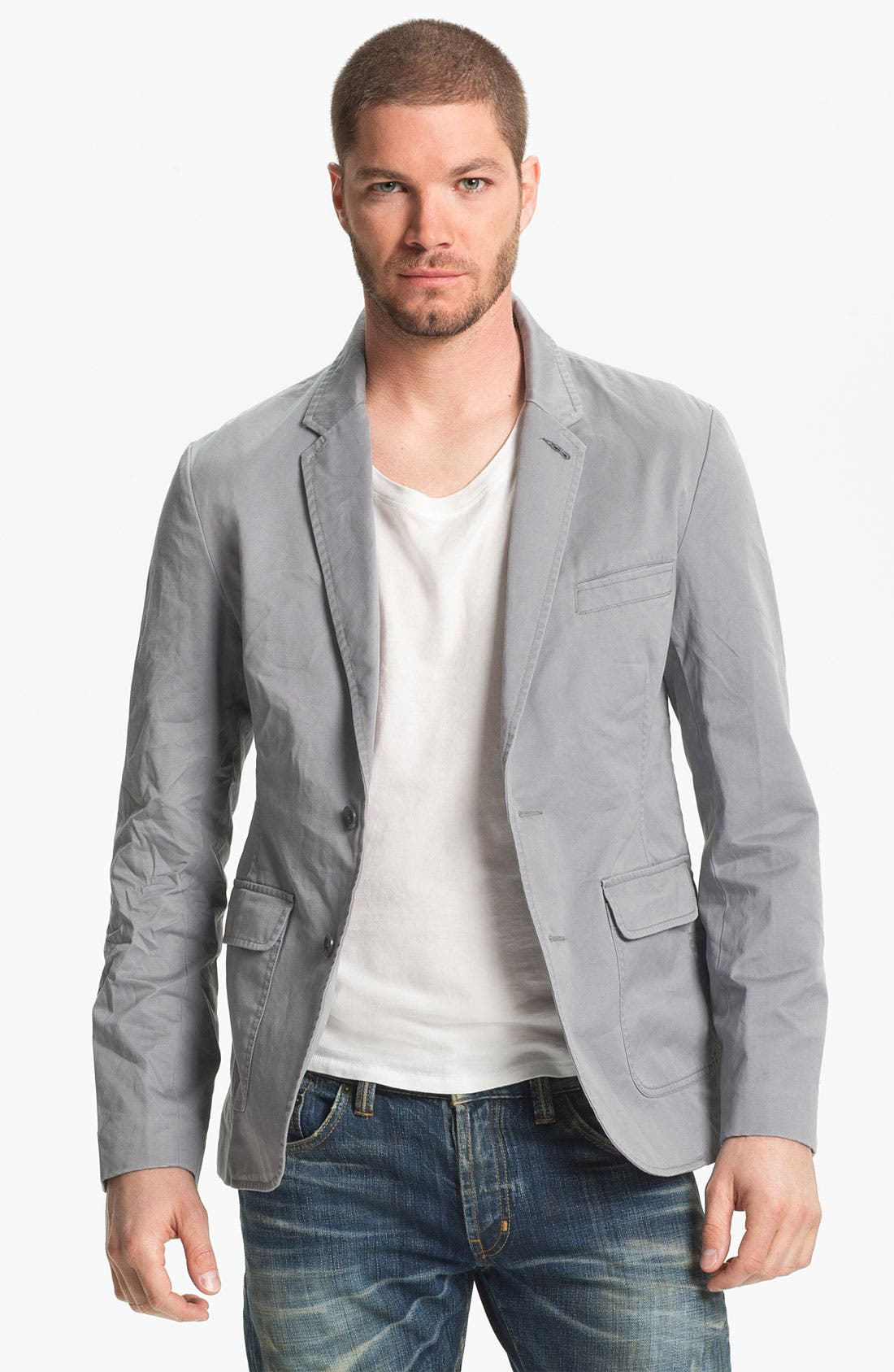 Main Image - 1901 Rigid Twill Blazer