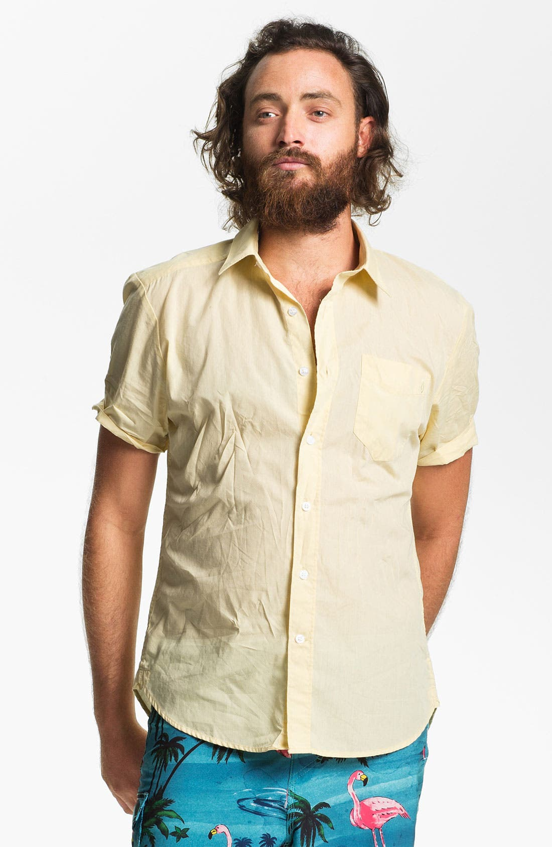 Alternate Image 1 Selected - Volcom 'Why Factor' Woven Shirt