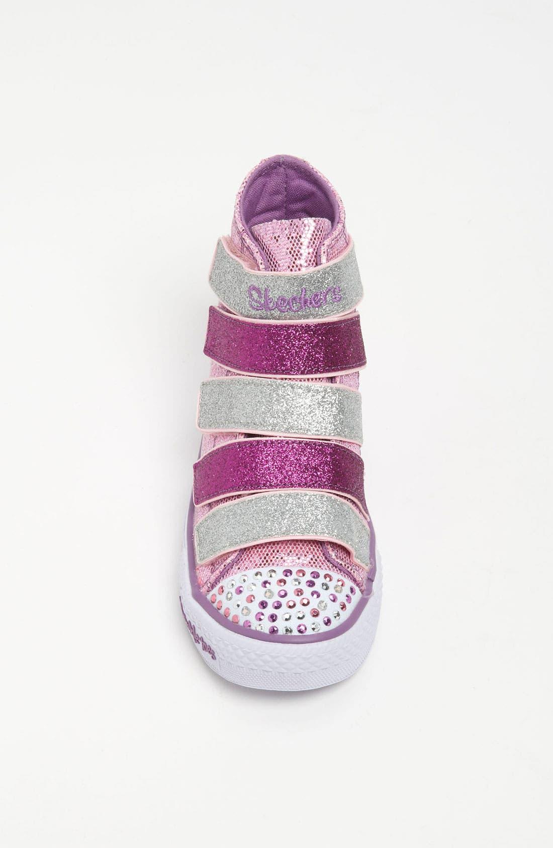 Alternate Image 3  - SKECHERS 'Shuffles S Lights -  5 Alive' Sneaker (Toddler & Little Kid)