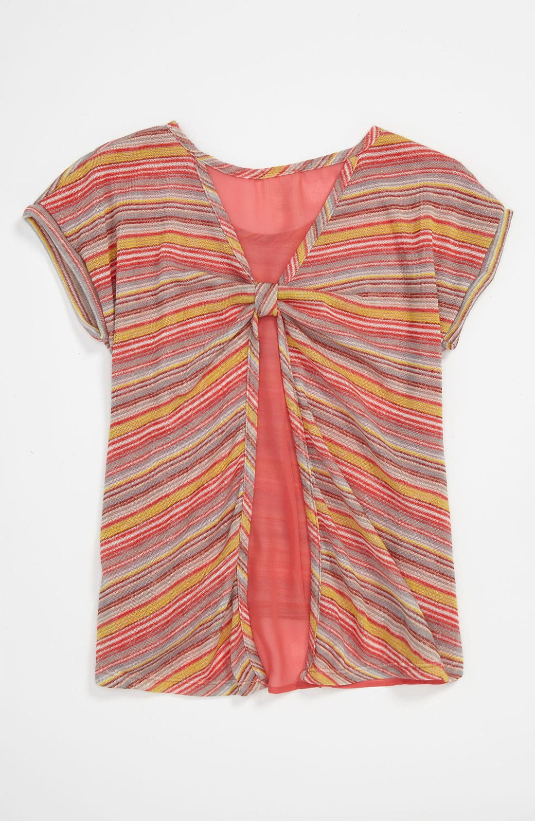 Alternate Image 2  - Kiddo Stripe Top (Little Girls)