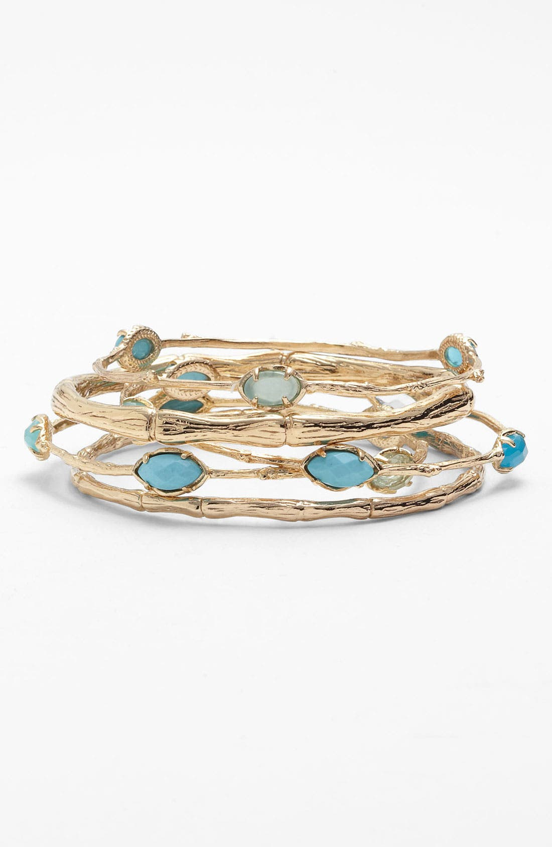 Main Image - Kendra Scott 'Bella' Bangles (Set of 5)