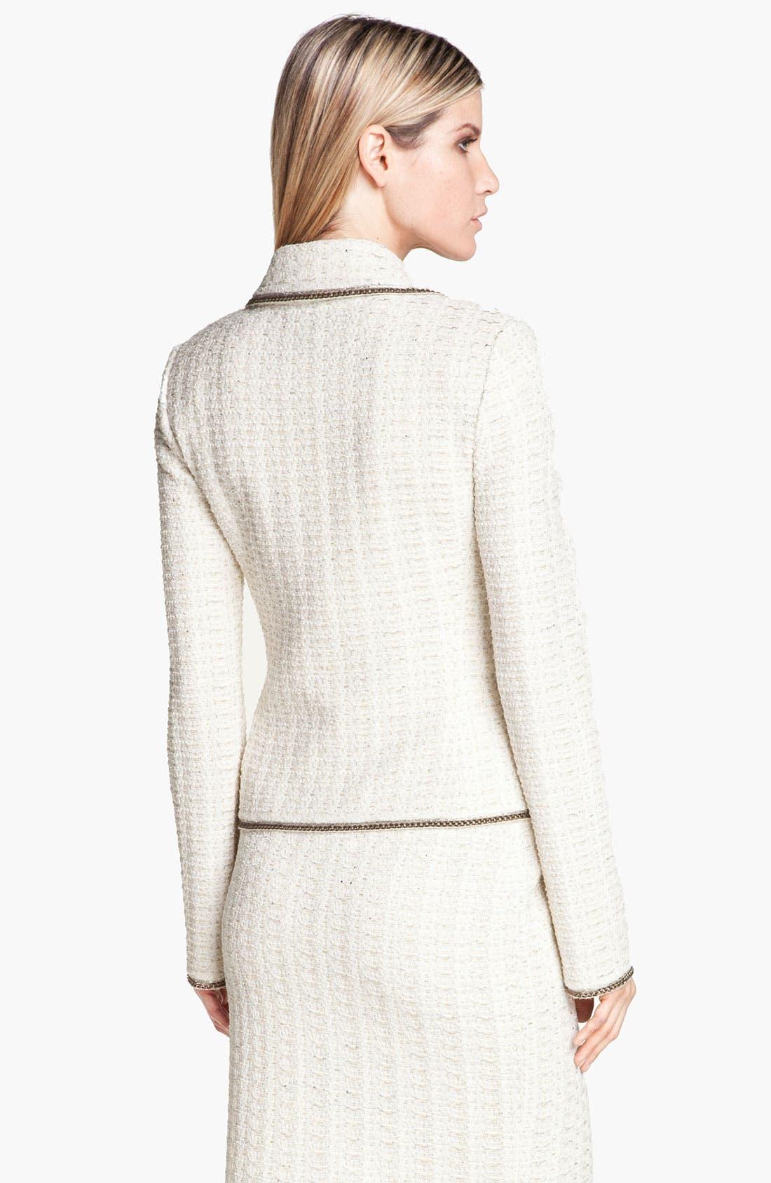 Alternate Image 4  - St. John Collection Belgravia Tweed Jacket