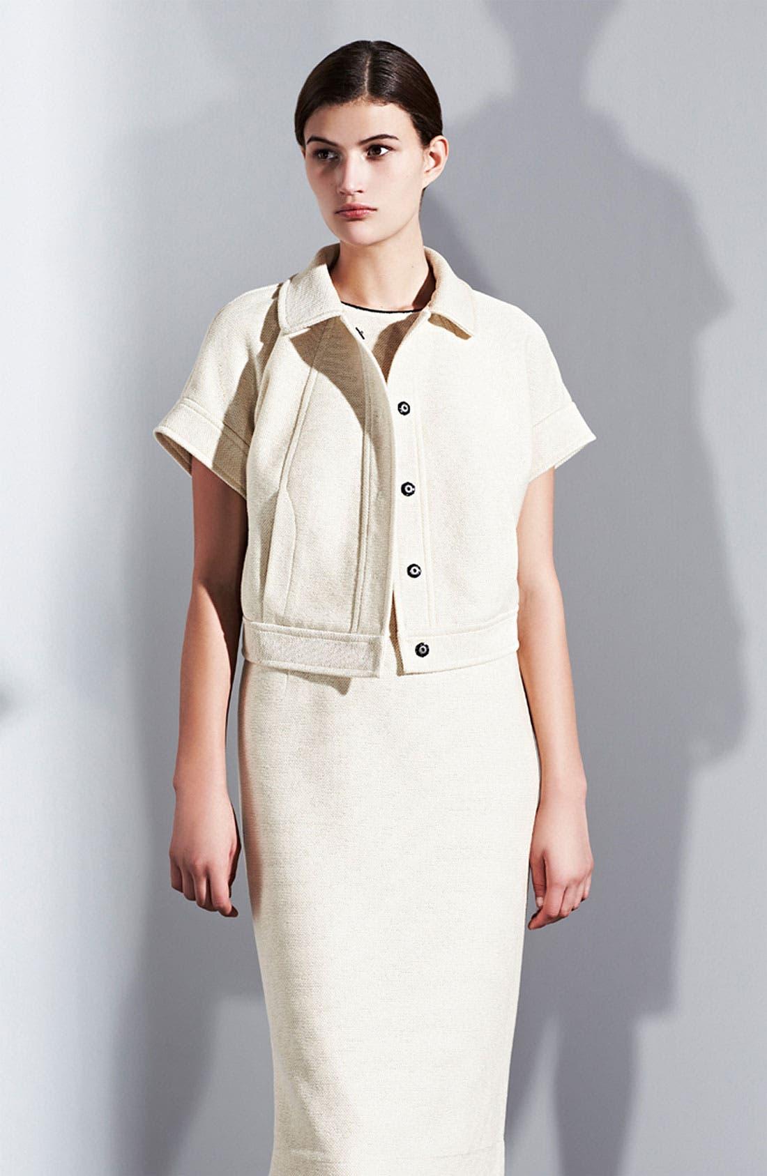 Alternate Image 6  - Lida Baday Jacquard Knit Crop Jacket