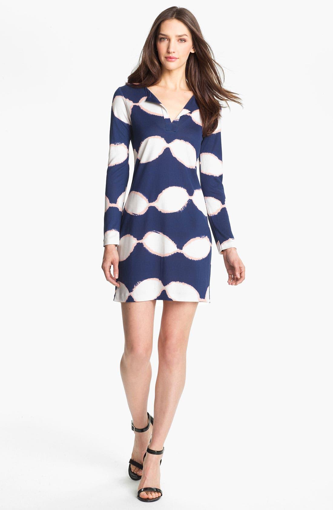 Alternate Image 1 Selected - Diane von Furstenberg 'Reina' Silk A-Line Dress