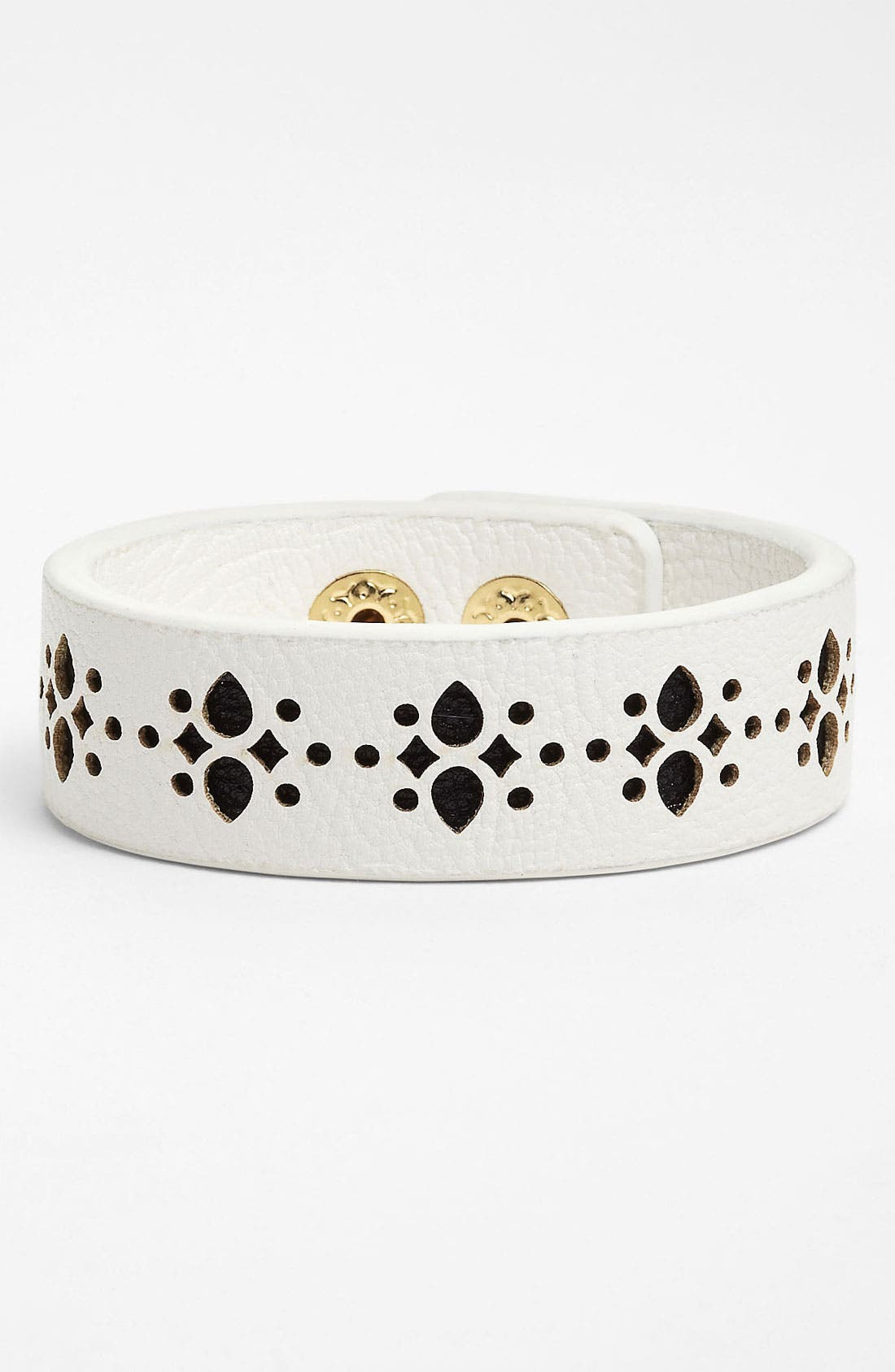 Alternate Image 1 Selected - Jessica Simpson 'Chic Frills' Bracelet