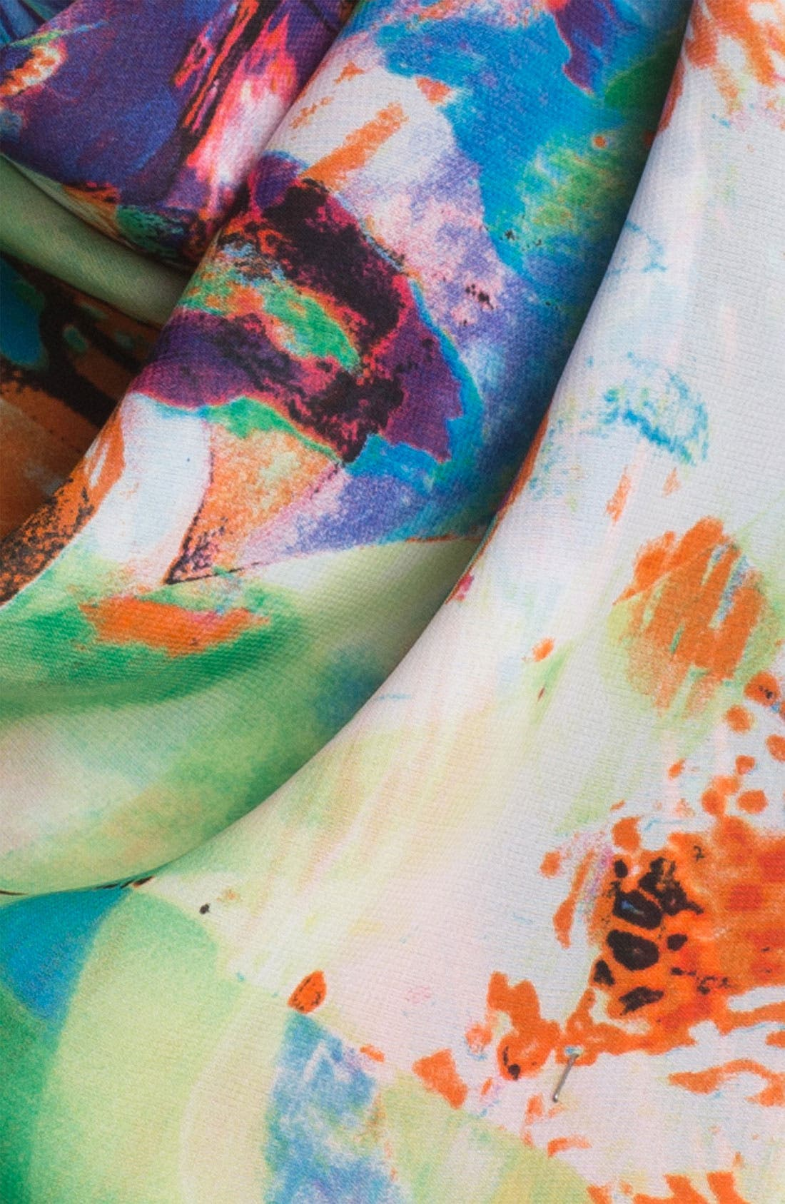 Alternate Image 2  - Nordstrom Color Splash Neckerchief