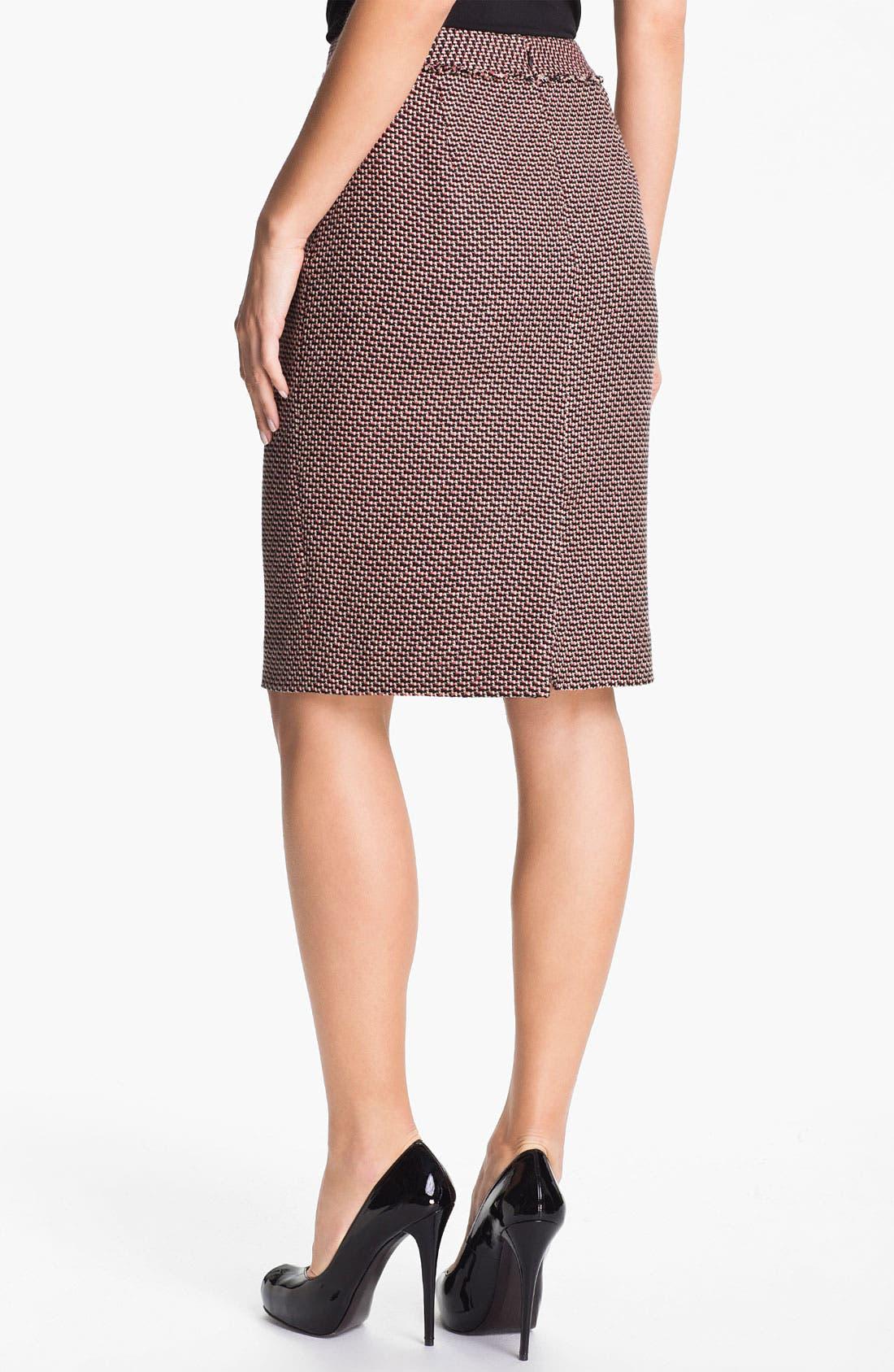 Alternate Image 2  - Classiques Entier® 'Venetto Zigzag' Skirt