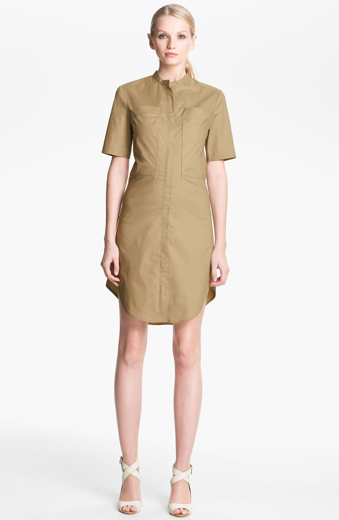 Main Image - 3.1 Phillip Lim Gabardine Shirtdress