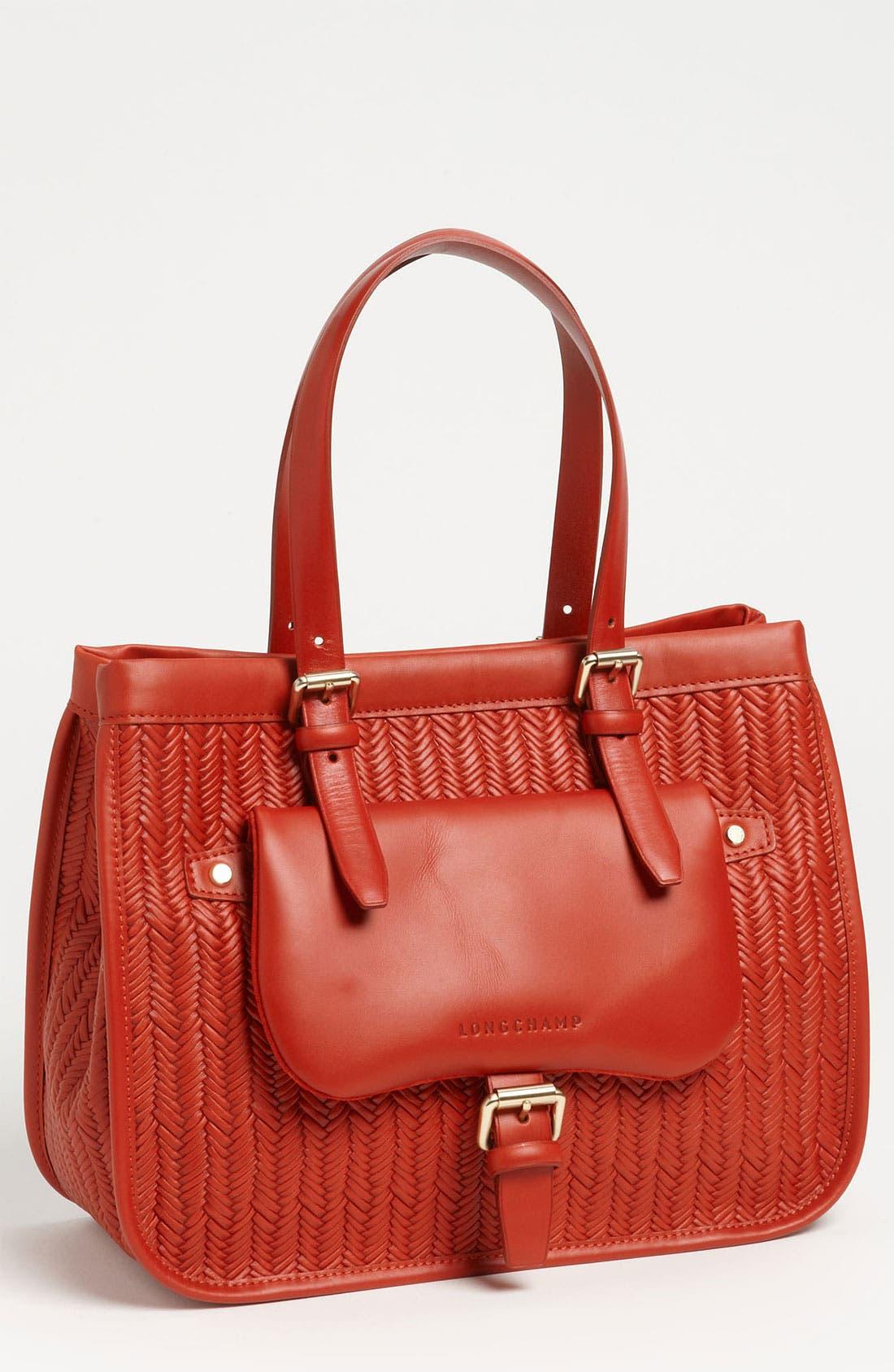 Alternate Image 1 Selected - Longchamp 'Balzane Paille' Shoulder Tote
