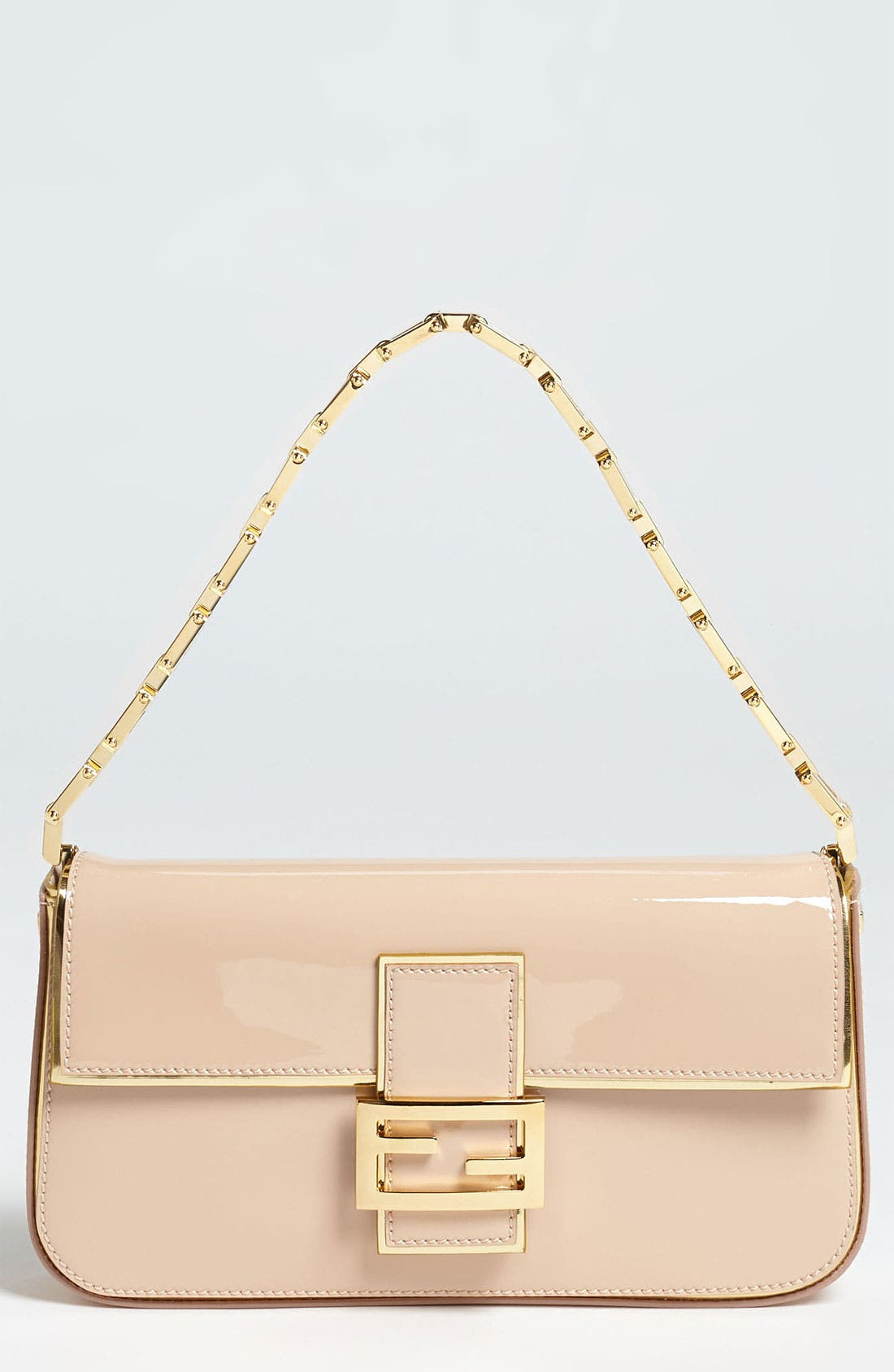 Alternate Image 1 Selected - Fendi Patent Leather Baguette