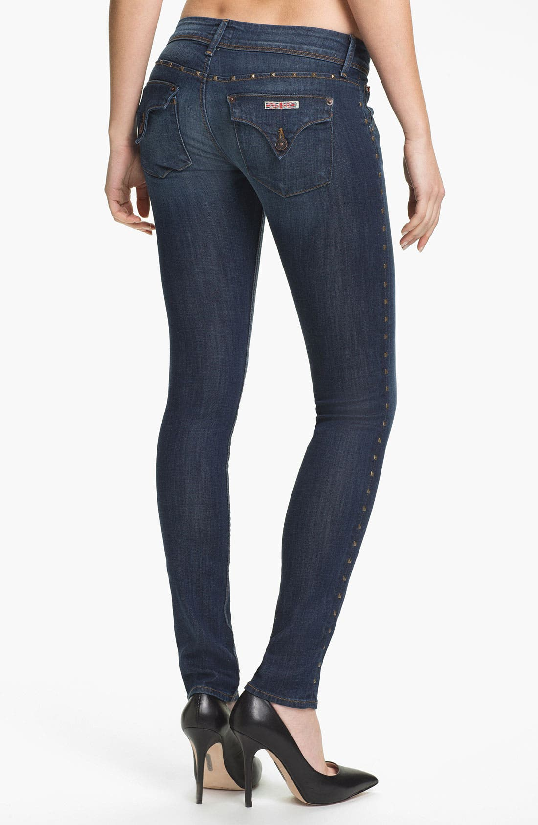 Alternate Image 2  - Hudson Jeans 'Collin' Skinny Stretch Jeans (Bennett)