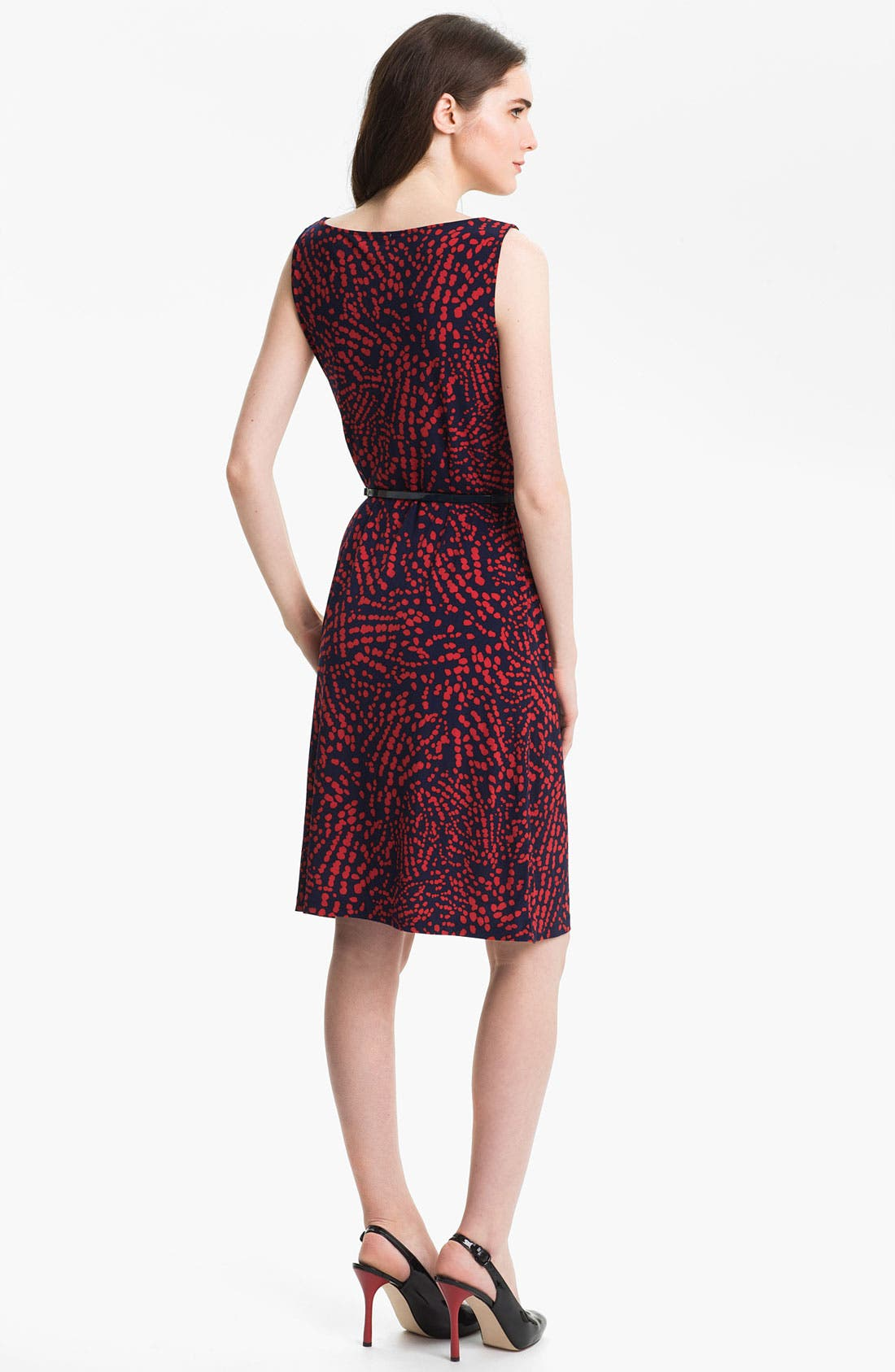Alternate Image 2  - Anne Klein Abstract Dot Print Dress