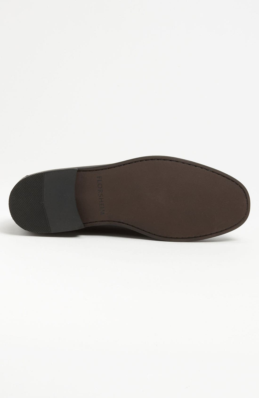 'Sarasota' Bit Loafer,                             Alternate thumbnail 4, color,                             Black Smooth