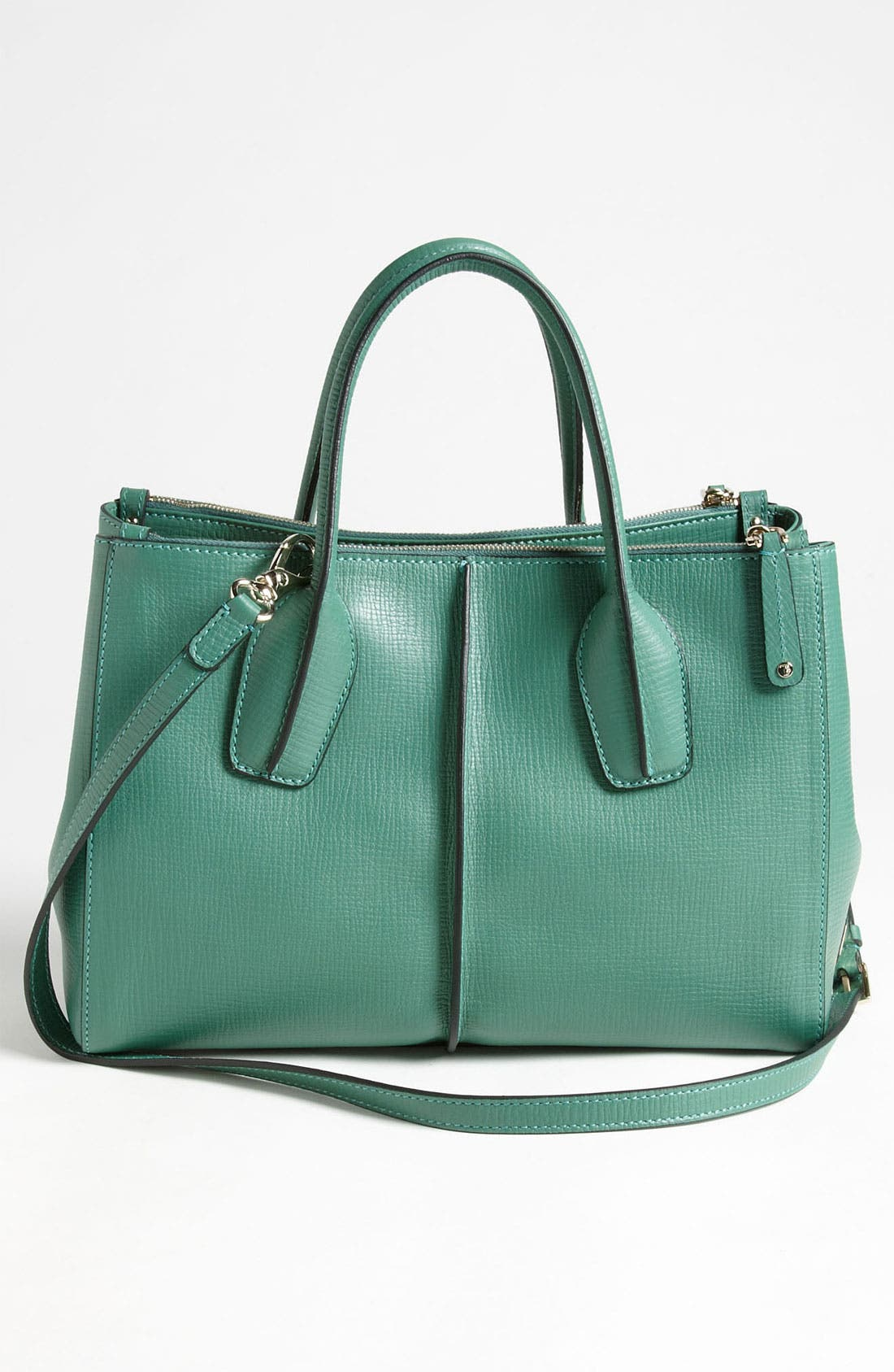 Alternate Image 4  - Tod's 'D-Styling' Two Zip Leather Shopper