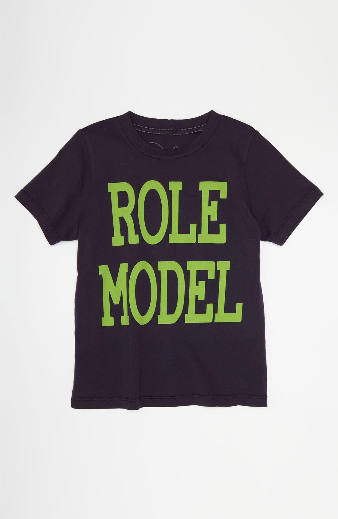 Alternate Image 1 Selected - Peek 'Role Model' T-Shirt (Little Boys & Big Boys)