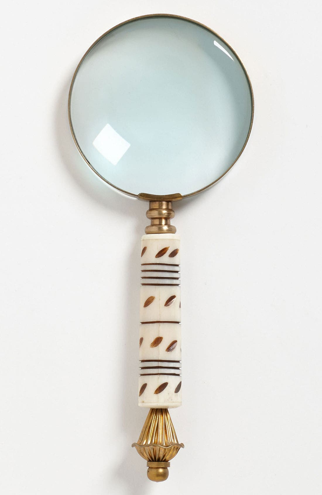 Main Image - Import Collection Magnifying Glass with Carved Horn Handle