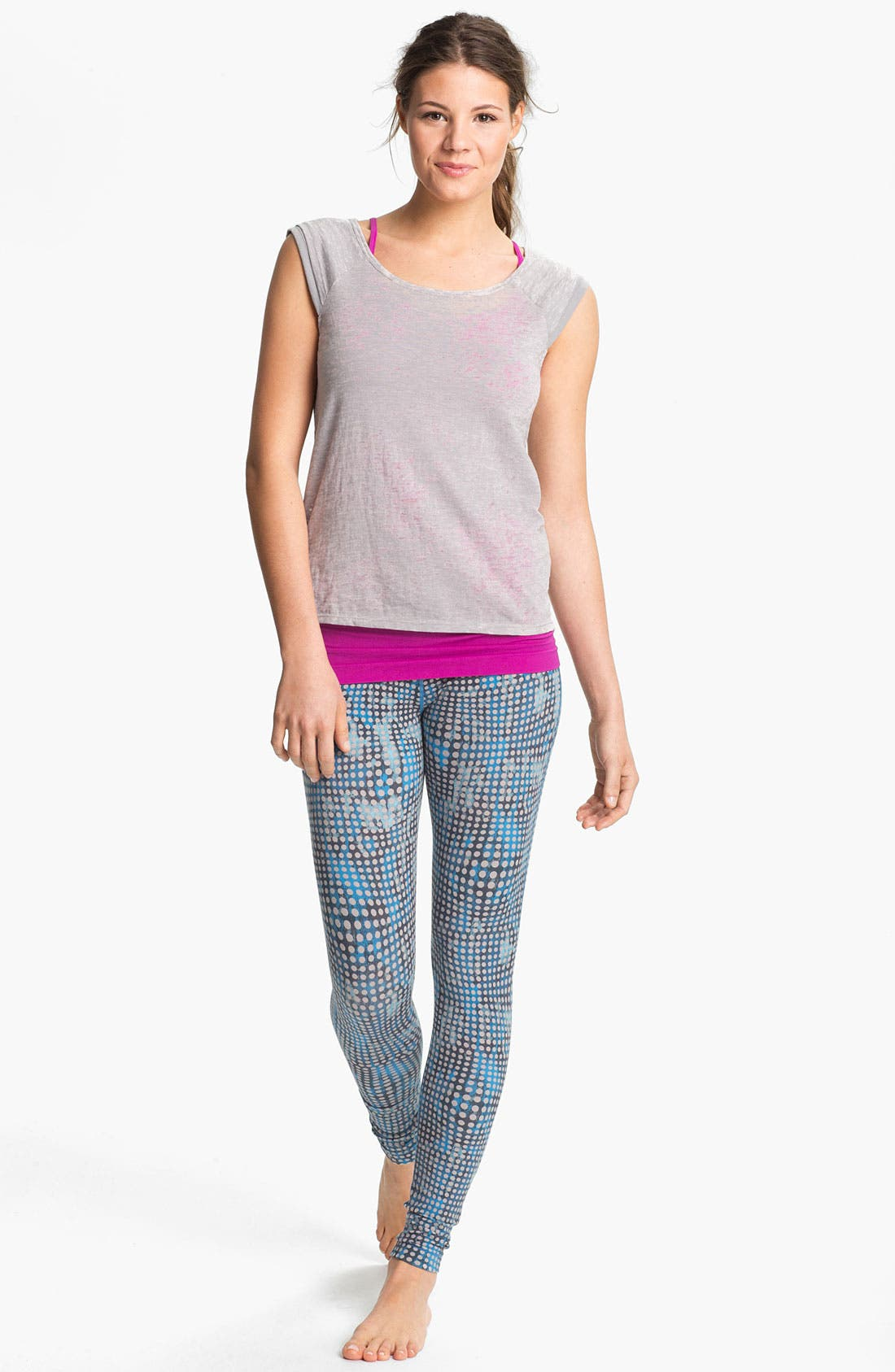 Alternate Image 5  - Unit-Y Print Leggings